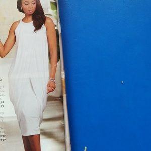 Egyptian white dress